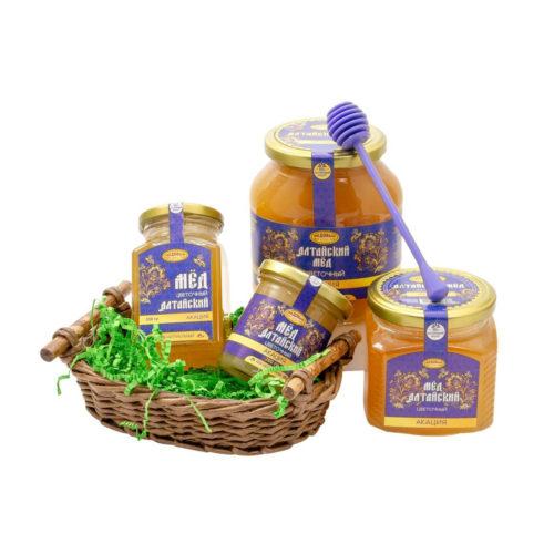 Алтайский акациевый мёд