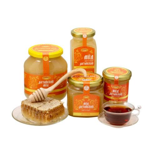 Алтайский донниковый мёд