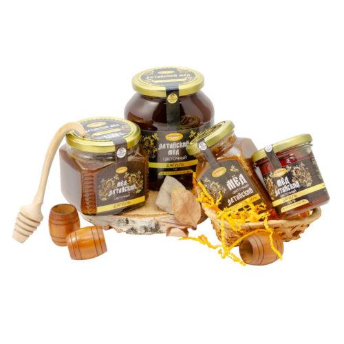 Алтайский дягилевый мёд