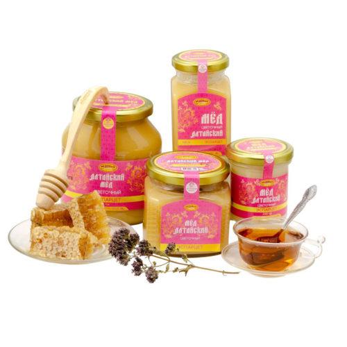 Алтайский эспарцетовый мёд