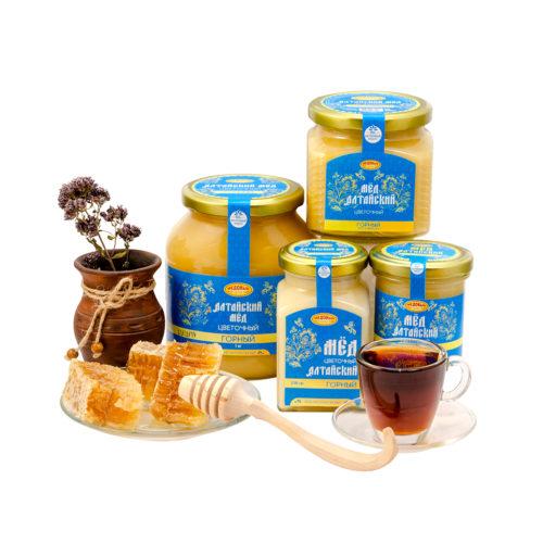 Алтайский мёд горный
