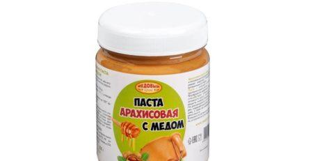 паста с мёдом
